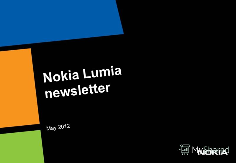 Nokia Lumia newsletter May 2012