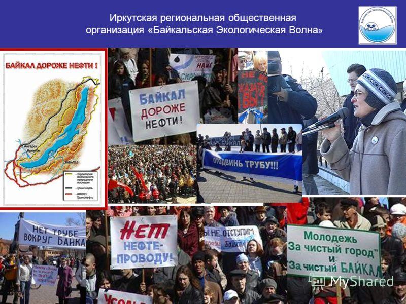 Иркутская региональная общественная организация «Байкальская Экологическая Волна »