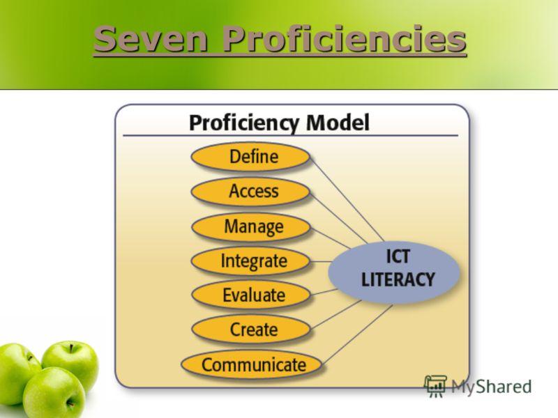 Seven Proficiencies Seven Proficiencies