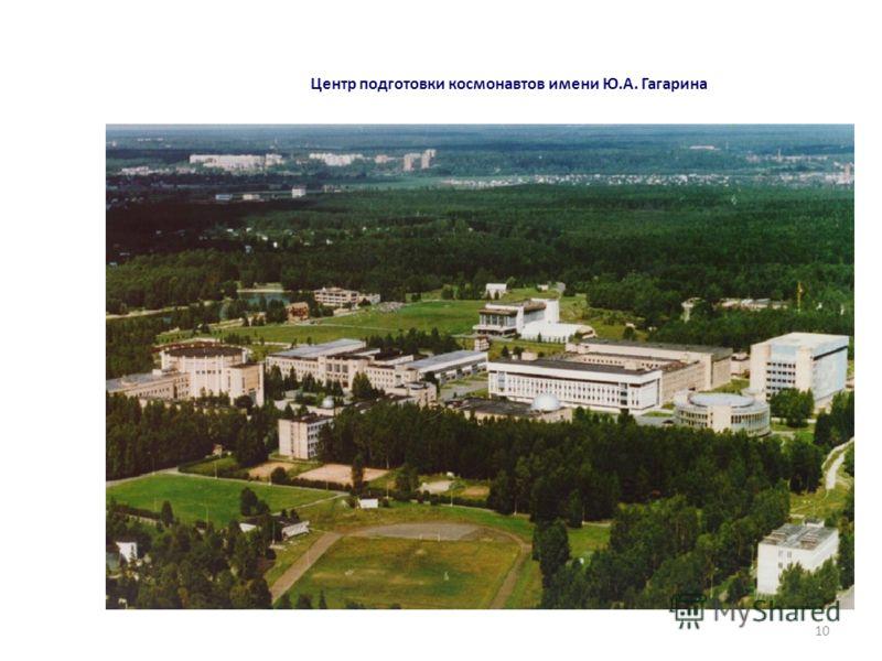 Центр подготовки космонавтов имени Ю.А. Гагарина 10