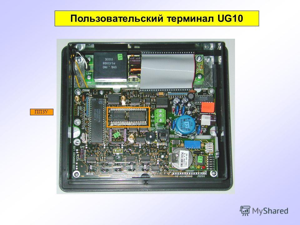 ППЗУ Пользовательский терминал UG10