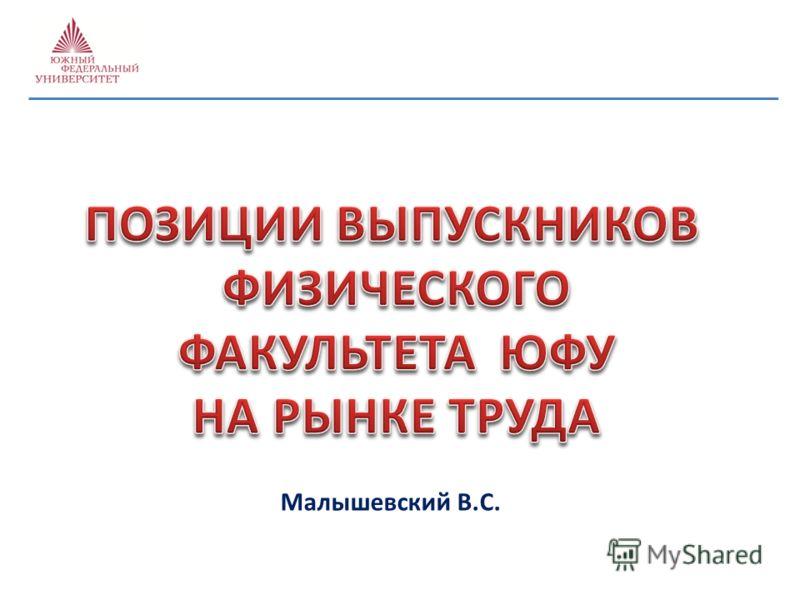 Малышевский В.С.