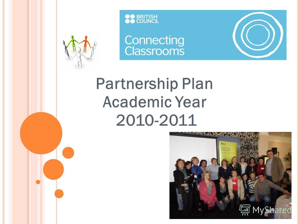 Partnership Plan Academic Year 2010-2011