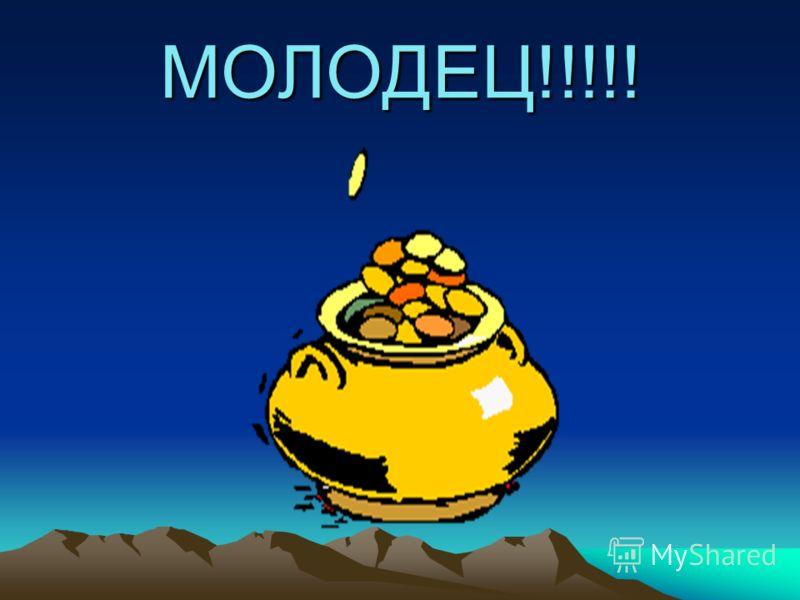 МОЛОДЕЦ!!!!!