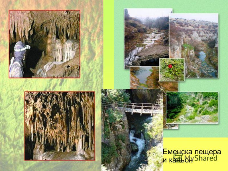 Еменска пещера и каньон