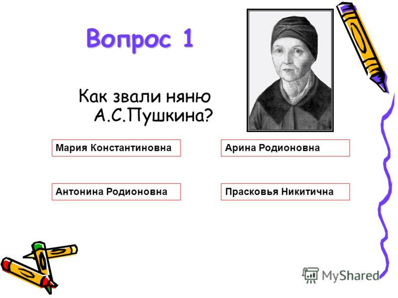 Сказки А.С.Пушкина Тест для учащихся начальных классов