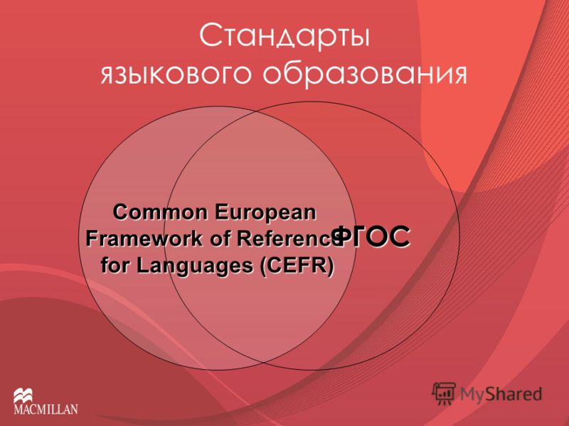 Стандарты языкового образования Common European Framework of Reference for Languages (CEFR) ФГОС