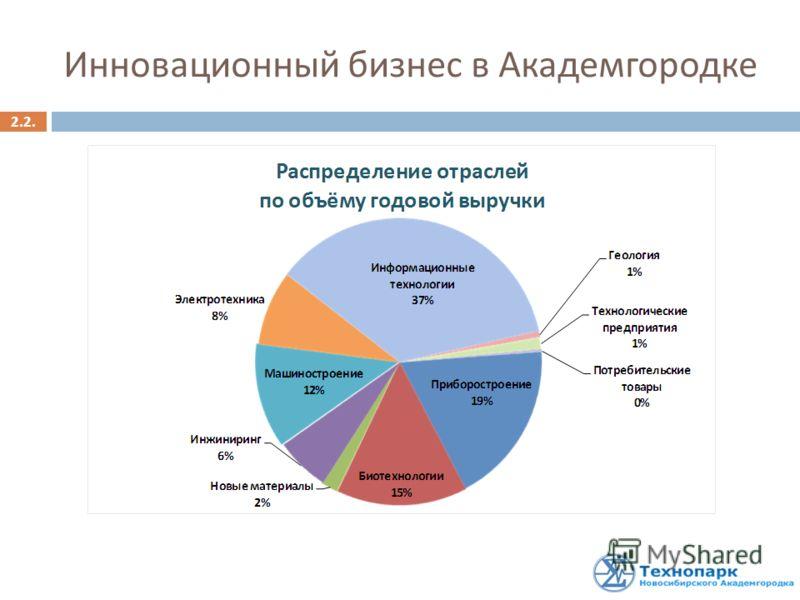 2.2. Инновационный бизнес в Академгородке