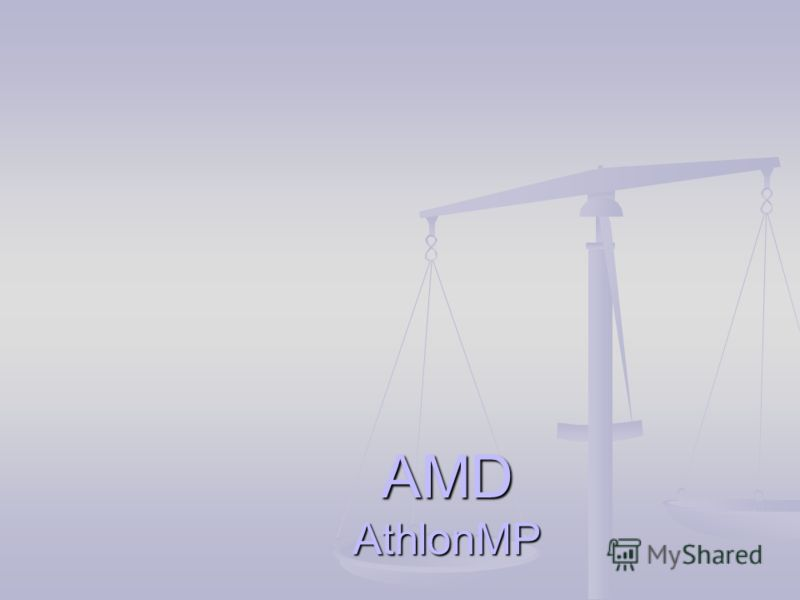 AMD AthlonMP