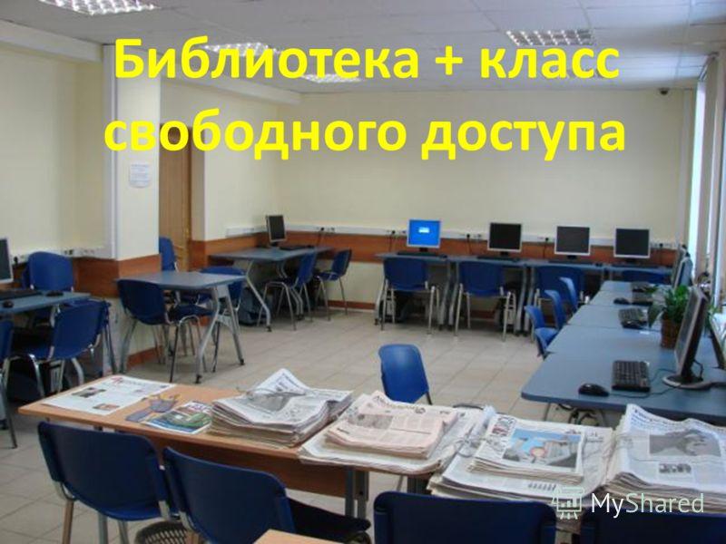 Библиотека + класс свободного доступа