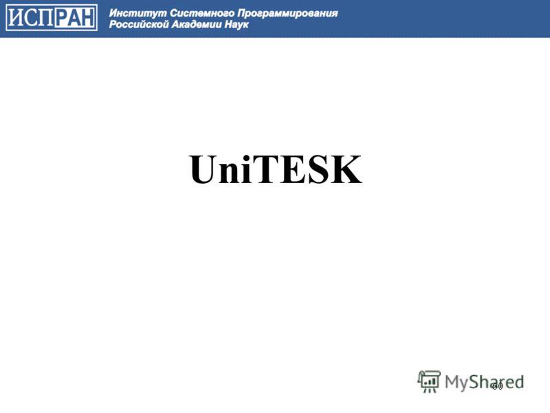 UniTESK 60