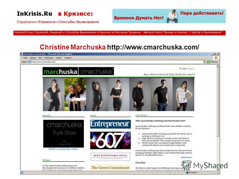Christine Marchuska http://www.cmarchuska.com/