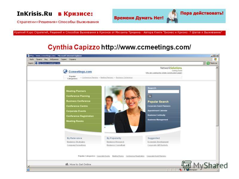 Cynthia Capizzo http://www.ccmeetings.com/