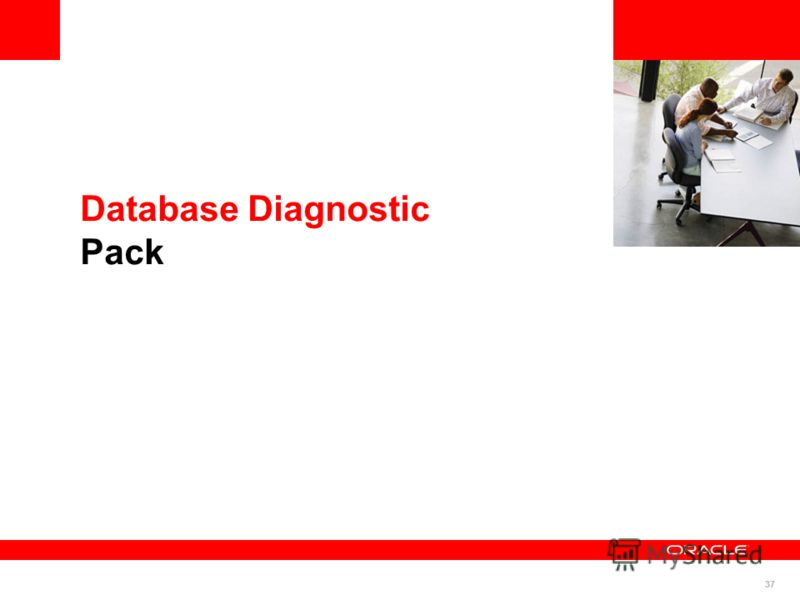 37 Database Diagnostic Pack