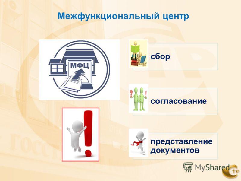 Межфункциональный центр сбор согласование представление документов