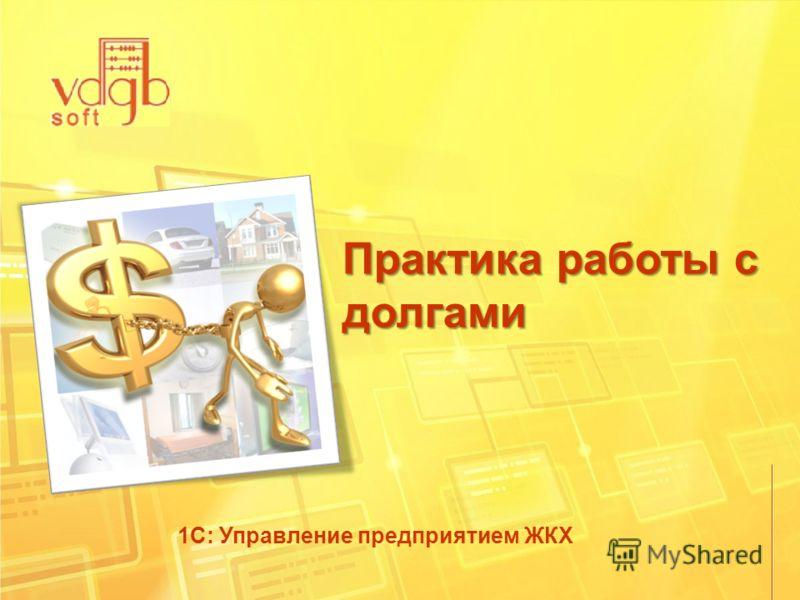 Практика работы с долгами 1С: Управление предприятием ЖКХ