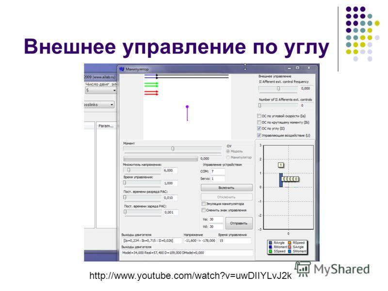 Внешнее управление по углу http://www.youtube.com/watch?v=uwDIIYLvJ2k