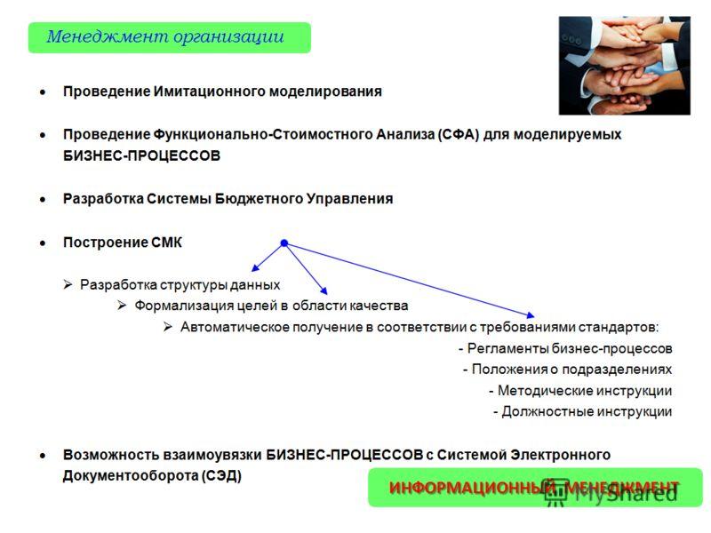 Менеджмент организации ИНФОРМАЦИОННЫЙ МЕНЕДЖМЕНТ