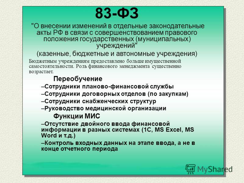 83-ФЗ