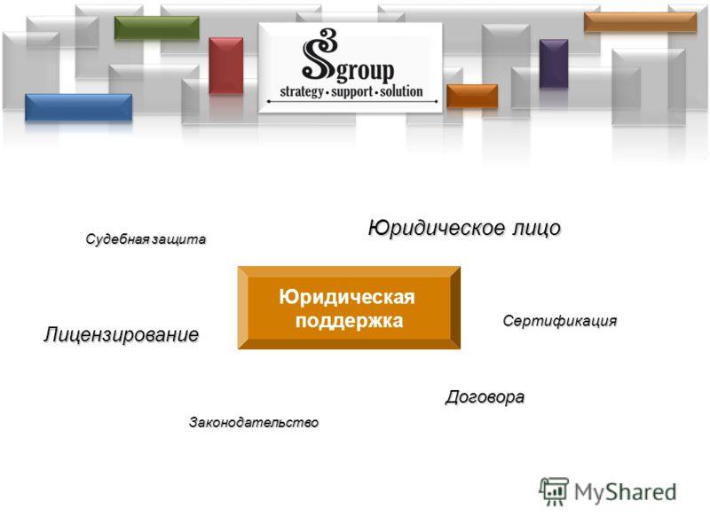 Юридическое лицо Лицензирование Законодательство Договора Сертификация Юридическая поддержка Судебная защита