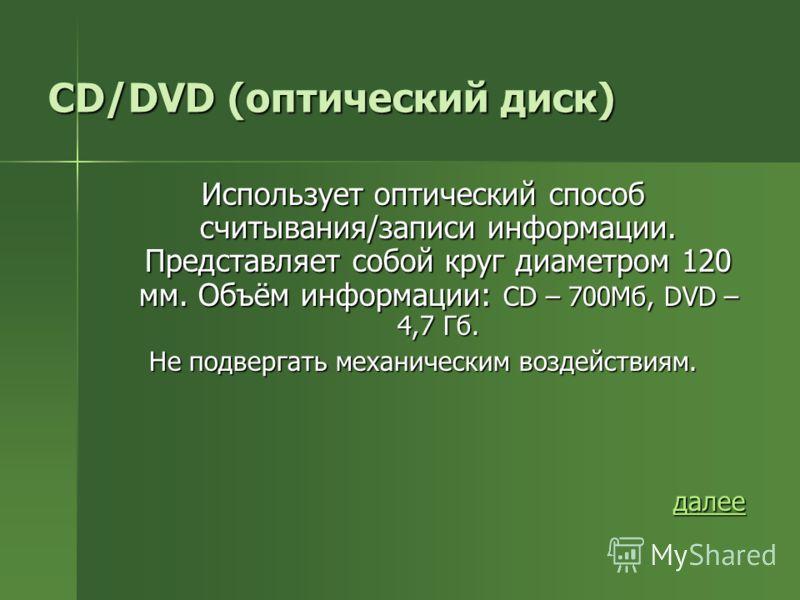 Дискета (гибкий диск) в память в память