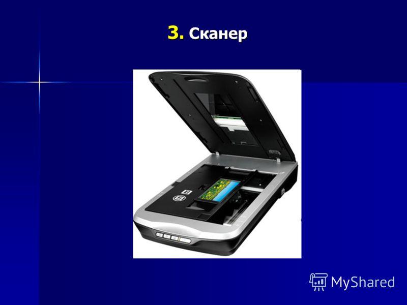 3. Сканер