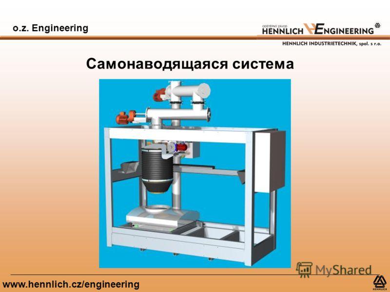 o.z. Engineering www.hennlich.cz/engineering Самонаводящаяся система
