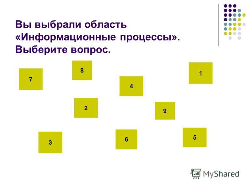 Выберите область (нажмите на любой квадратик) Вы закончили?! Нажмите на эту кнопку