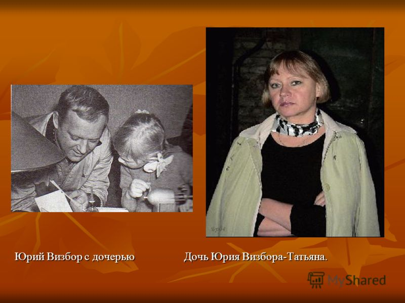 Юрий Визбор с дочерью Дочь Юрия Визбора-Татьяна. Юрий Визбор с дочерью Дочь Юрия Визбора-Татьяна.