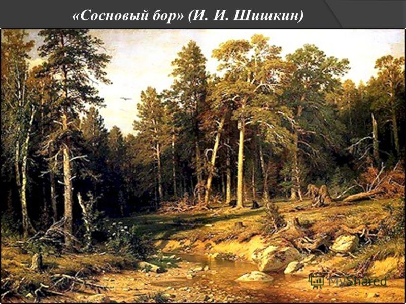 «Сосновый бор» (И. И. Шишкин)