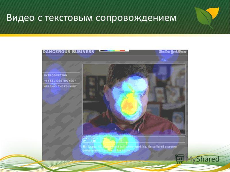 Видео с текстовым сопровождением