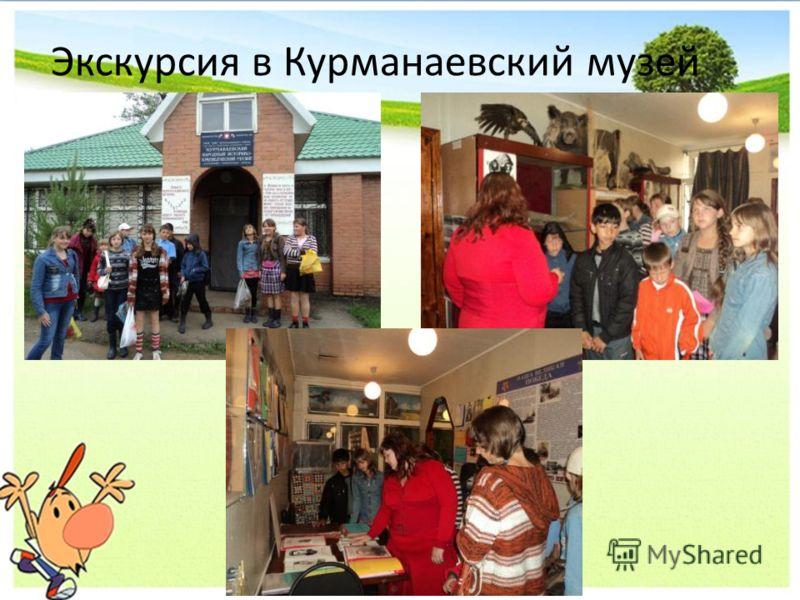 Экскурсия в Курманаевский музей