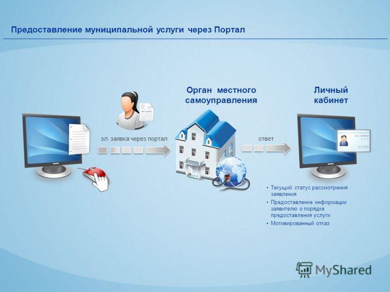 Предоставление муниципальной услуги