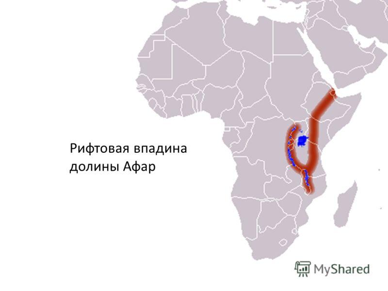 Рифтовая впадина долины Афар