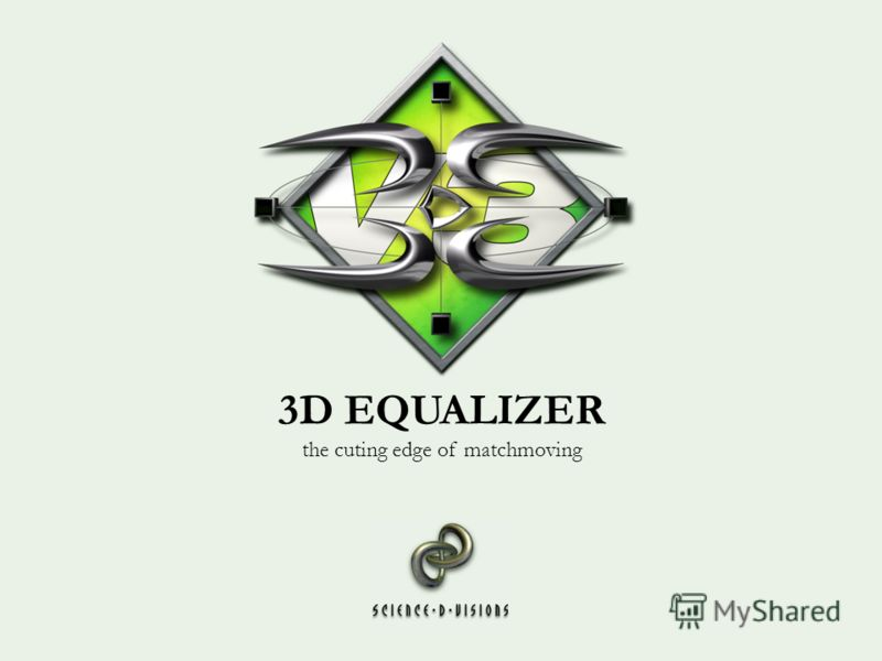 3D EQUALIZER the cuting edge of matchmoving