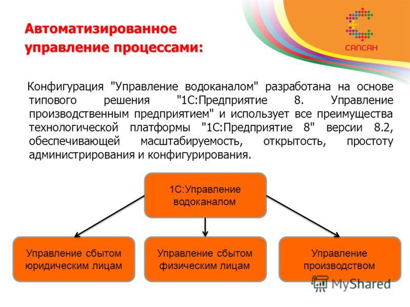 Автоматизированное управление процессами: Конфигурация