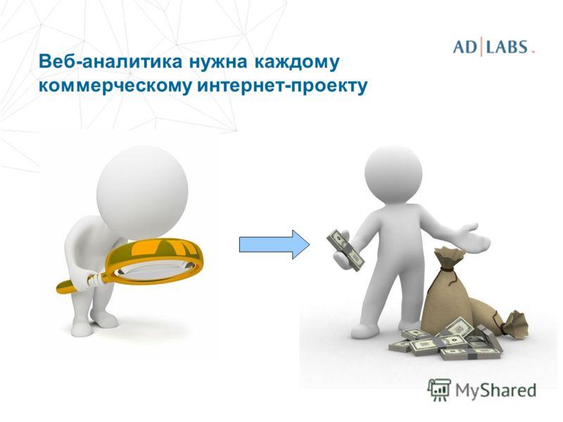 Веб-аналитика нужна каждому коммерческому интернет-проекту
