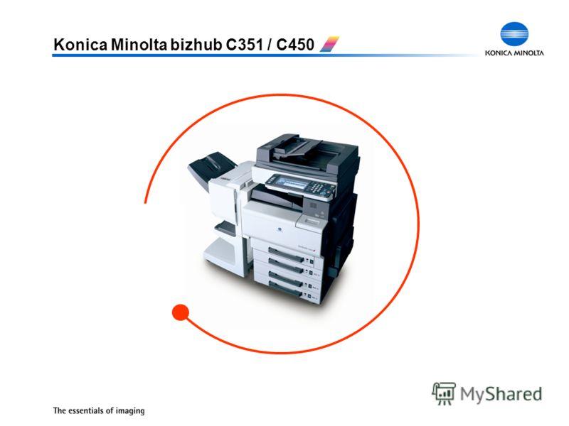 Konica Minolta bizhub C351 / C450