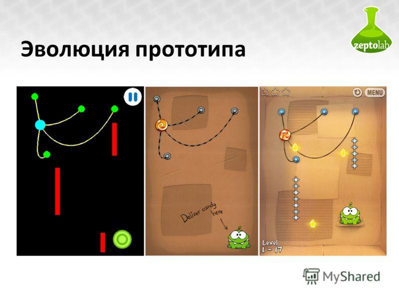 Эволюция прототипа 11