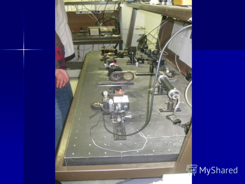 Экскурсия в лабораторию «Лазеры и нелинейная оптика»