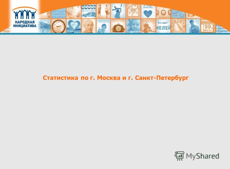 Статистика по г. Москва и г. Санкт-Петербург