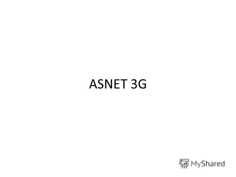 ASNET 3G