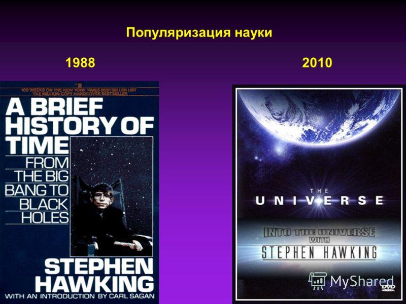 19882010 Популяризация науки