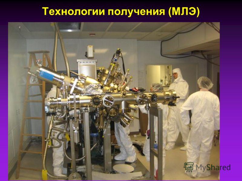 Технологии получения (МЛЭ)