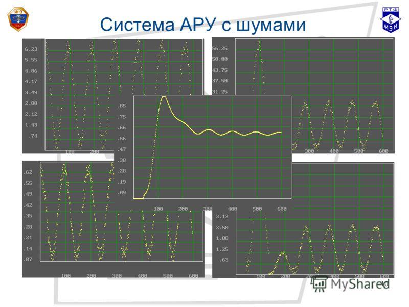 10 Система АРУ с шумами