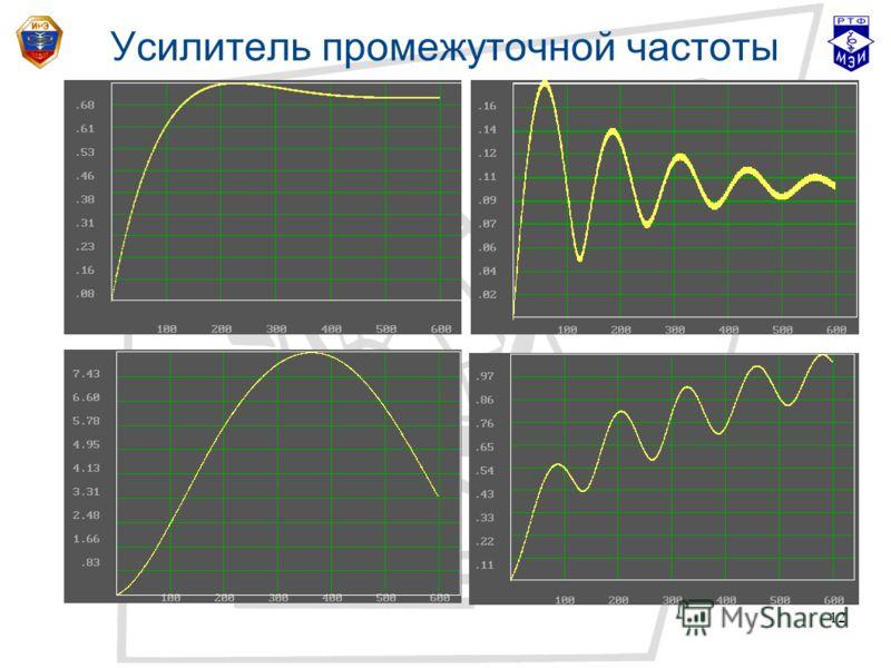 12 Усилитель промежуточной частоты