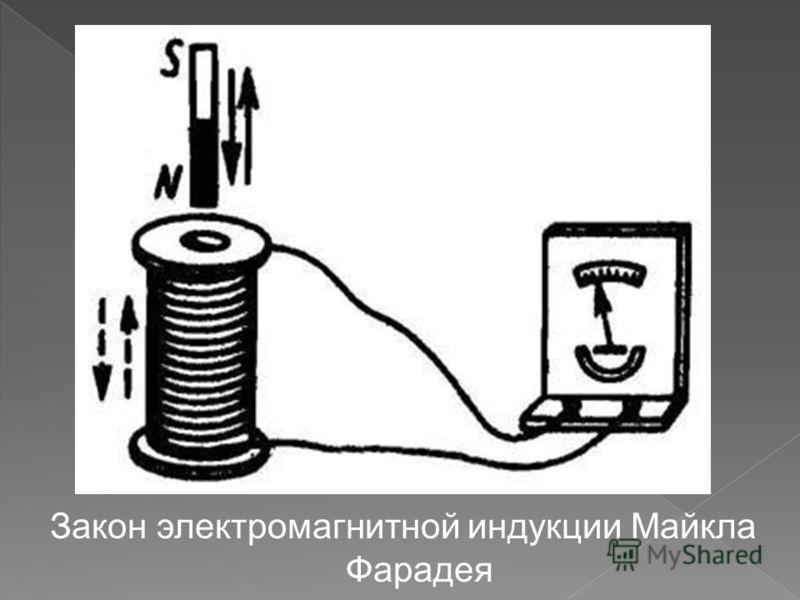 Закон электромагнитной индукции Майкла Фарадея