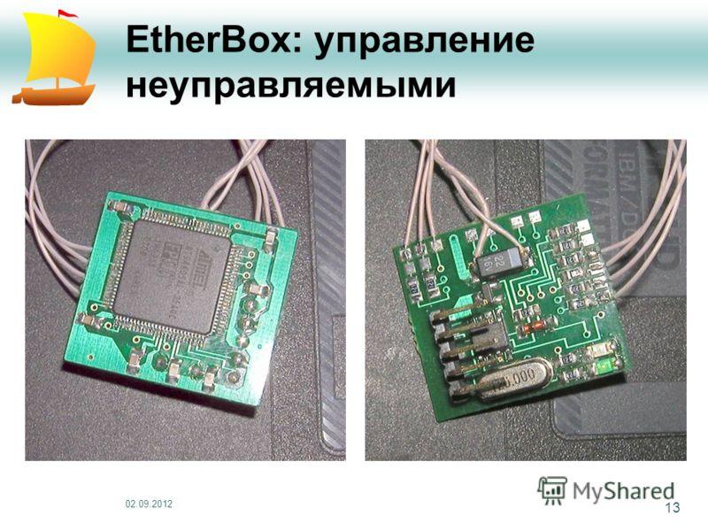 02.09.2012 13 EtherBox: управление неуправляемыми