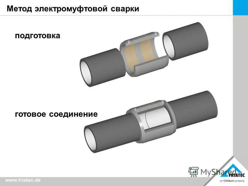 Метод электромуфтовой сварки подготовка готовое соединение