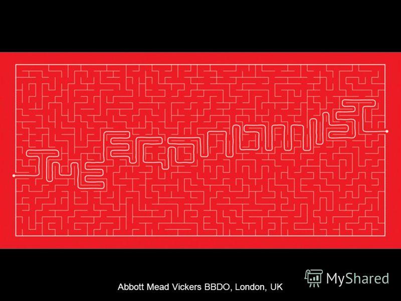 Abbott Mead Vickers BBDO, London, UK
